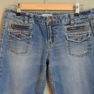 Aeropostale size 7/8 Hailey skinny flare jeans